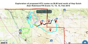 OHV map