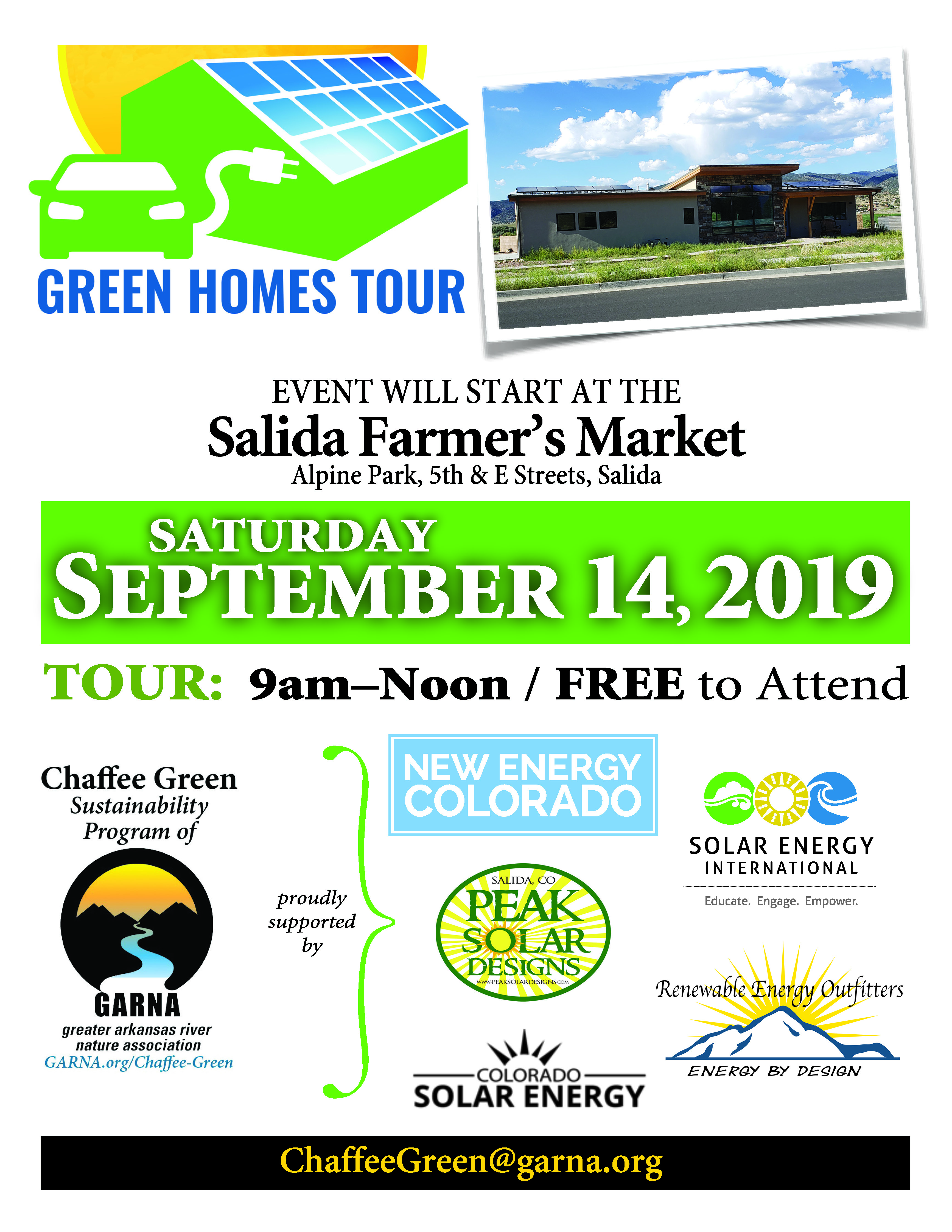 Chaffee Green Sustainable Homes Tour
